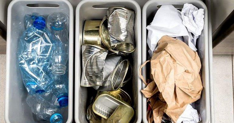 Урна для сортировки мусора дома