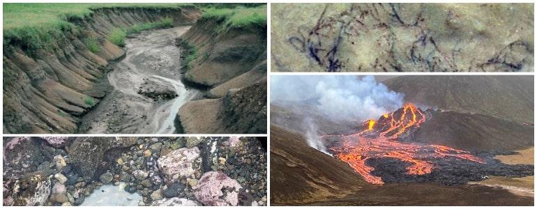 Естественные источники загрязнения