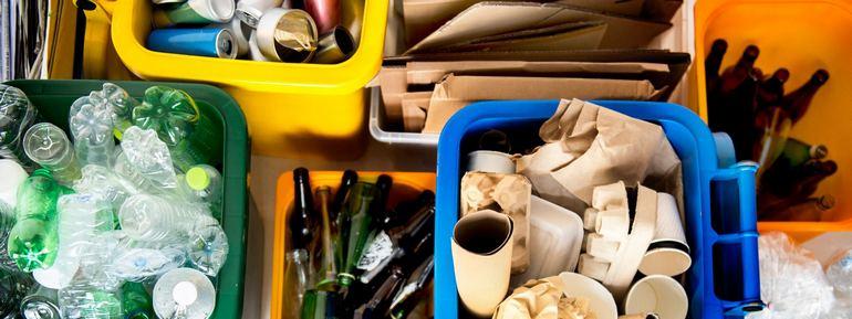 Сортировка отходов в офисе