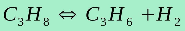 Формула пиролиза