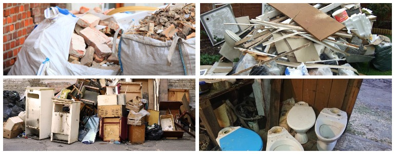 Виды крупногабаритного мусора