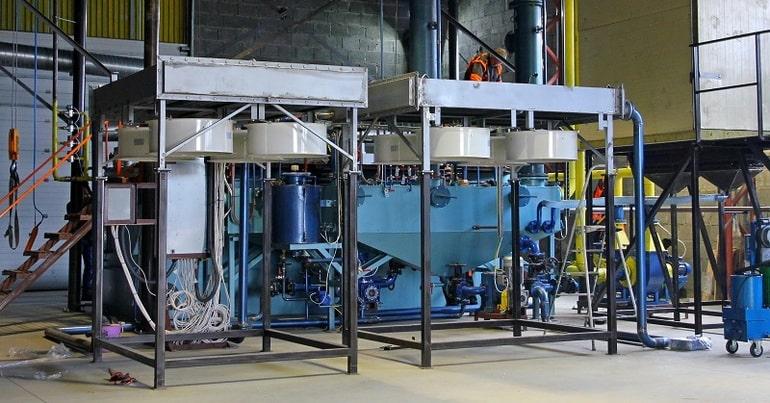 Промышленная установка