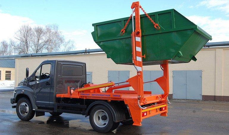 Специальный автомобиль для вывоза КГО