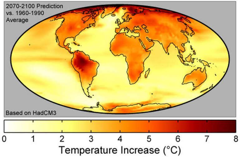 Прогноз глобального потепления